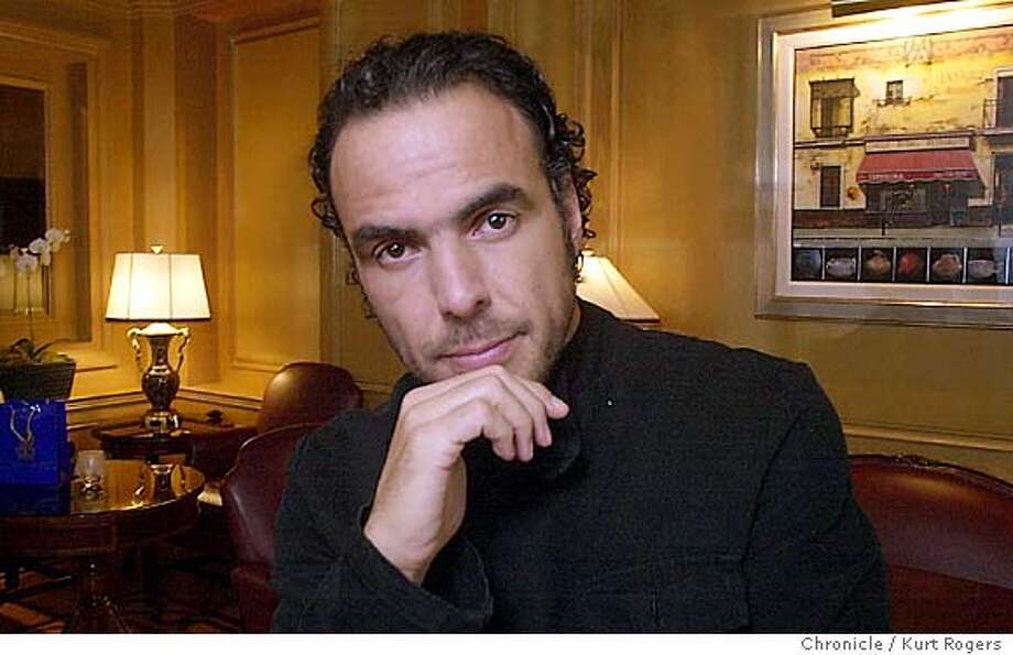 Mexican film maker Alejandro Gonzalez. Event on 11/14/03 in San Francisco. KURT ROGERS / The Chronicle Photo: KURT ROGERS
