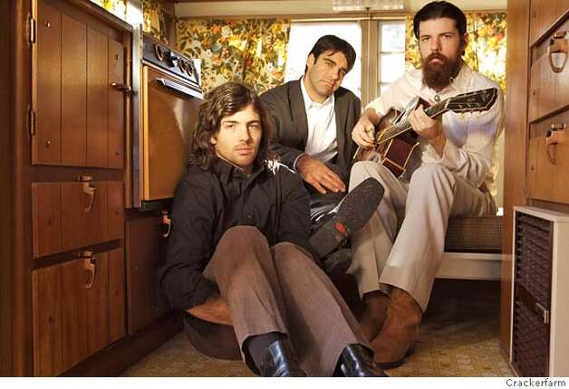 � The Avett Brothers: Scott Avett, Seth Avett and Bob Crawford. Photo: Crackerfarm