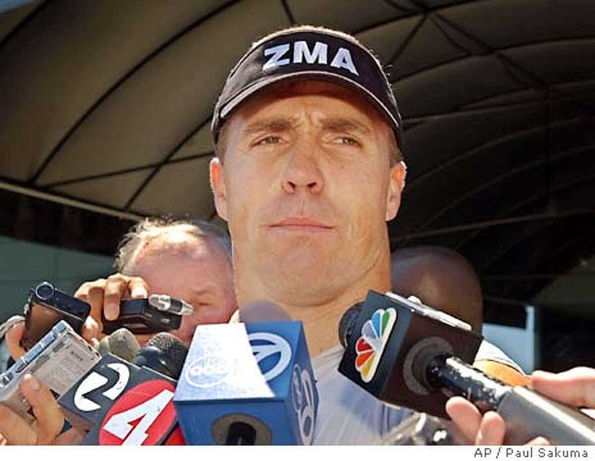 Oakland Raiders linebacker Bill Romanowski talks to reporters after practice at Raiders headquarters in Alameda, Calif., Tuesday, Aug. 26, 2003. Romanowski was suspended from Monday's practice and fined after punching and seriously injuring teammate Marcus Williams during a fight during practice on Sunday. (AP Photo/Paul Sakuma) Victor Conte is a former bassist for Tower of Power who turned into a nutritional guru. Victor Conte is a former bassist for Tower of Power who turned into a nutritional guru. Victor Conte is a former bassist for Tower of Power who turned into a nutritional guru.