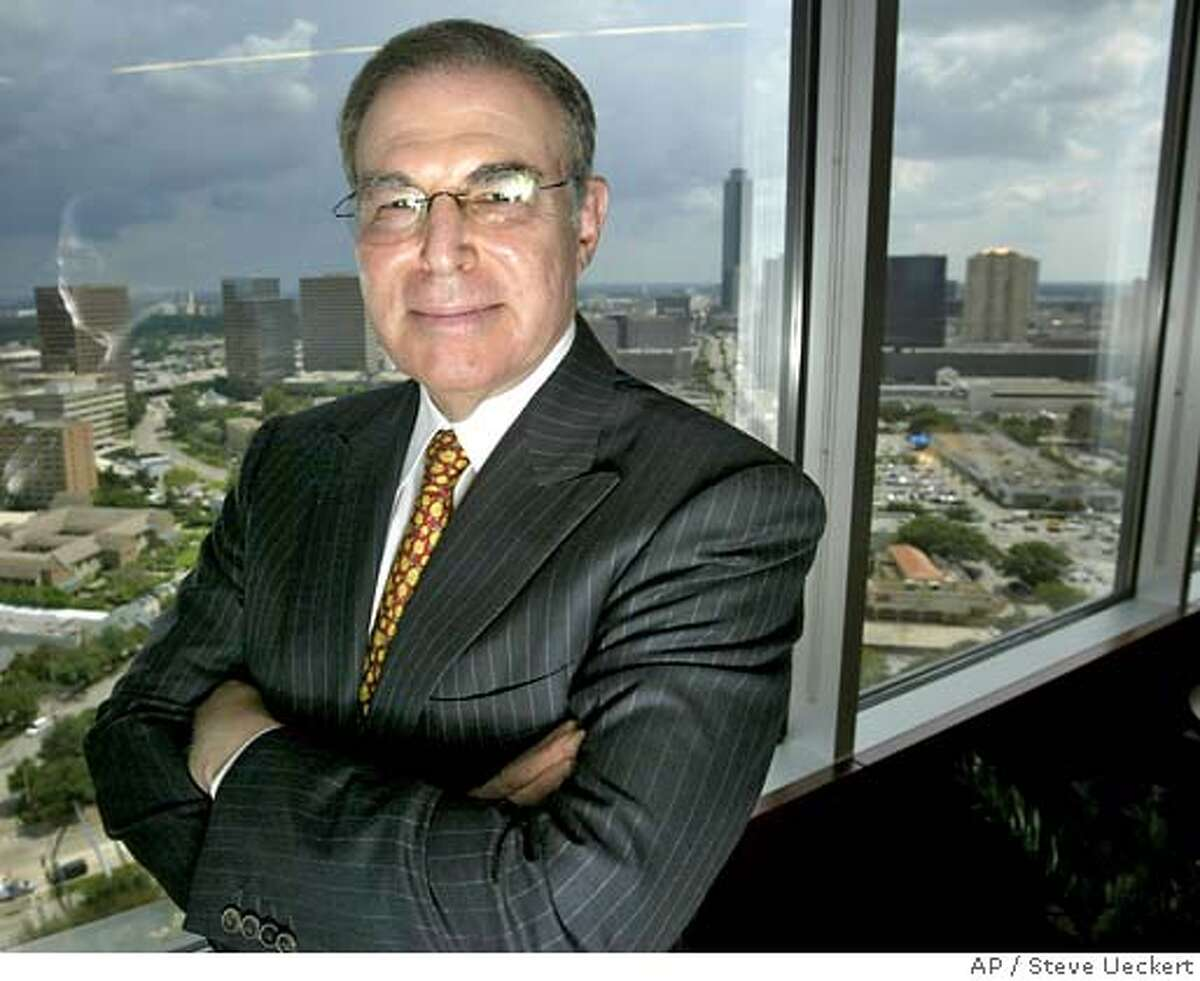 Charles Hurwitz stands in his office Wednesday, Aug. 24, 2005, in Houston. A federal judge on Tuesday ordered the Federal Deposit Insurance Corp. to pay Hurwitz $72.3 million in attorneys fees for its failed lawsuit against him over a defunct savings and loan. (AP Photo/Houston Chronicle, Steve Ueckert) Ran on: 08-25-2005 Financier Charles Hurwitz originally filed his lawsuit against the FDIC in 1997. Ran on: 01-20-2007 Equipment operators monitor rough-hewn lumber and make adjustments as it moves along an edger in Pacific Lumbers Scotia mill. ALSO Ran on: 04-21-2007 Charles Hurwitz wants the Pacific Lumber bankruptcy case heard in Texas. NO MAGS, NO SALES