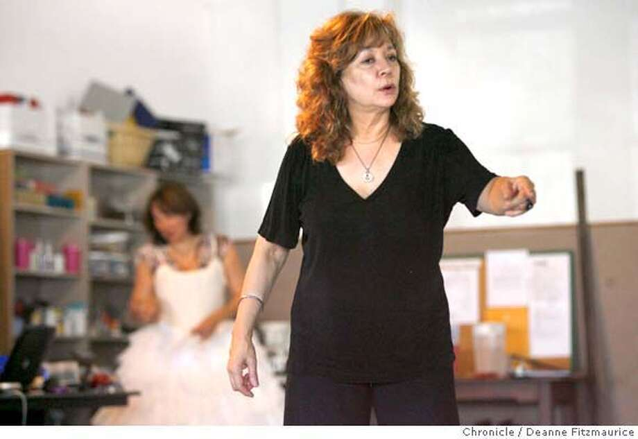 triumph_0083_df.jpg  Lillian Groag directs the rehearsal of Cal Shakes Triumph of Love. Photographed in Berkeley on 7/20/07. Deanne Fitzmaurice / The Chronicle Mandatory credit for photographer and San Francisco Chronicle. No Sales/Magazines out. Photo: Deanne Fitzmaurice