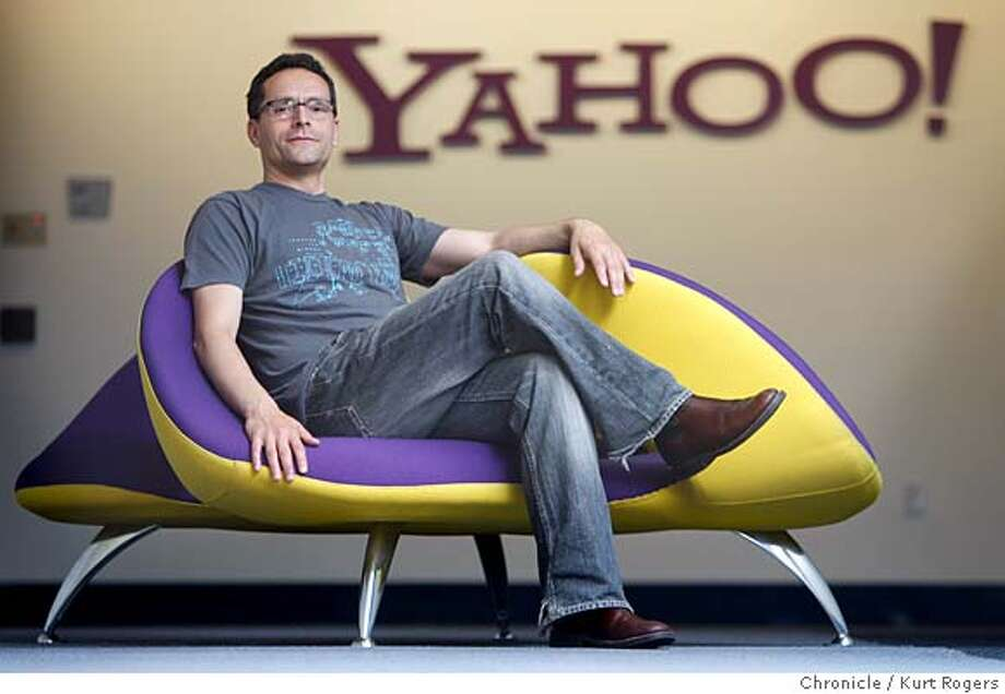 Bradley Horowitz a vice president of Yahoo who plays a large role in innovation at the web portal WEDNESDAY, JULY 25, 2007 KURT ROGERS SUNNYVALE SFC  THE CHRONICLE Photo: KURT ROGERS