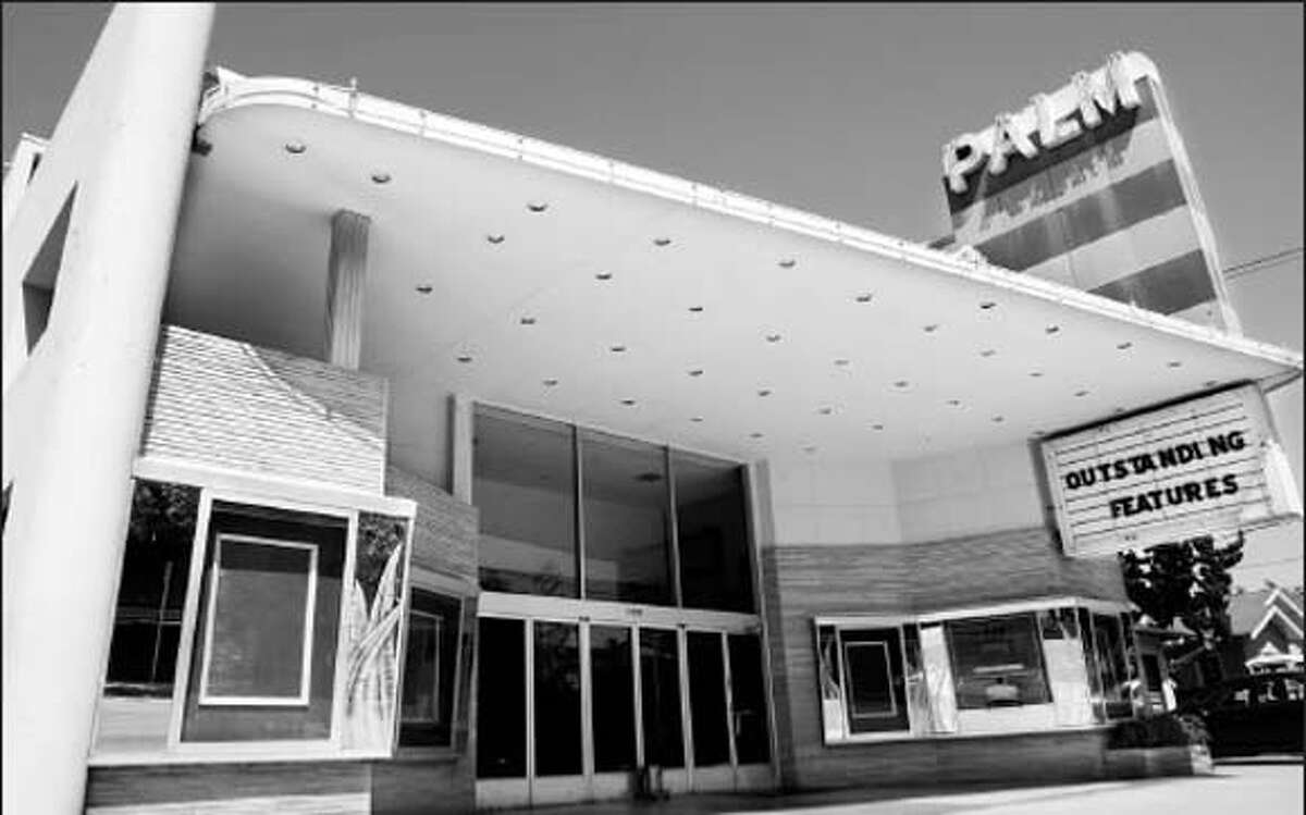 The Palm Theater in San Mateo -- razed and replaced by a 19-unit condo project