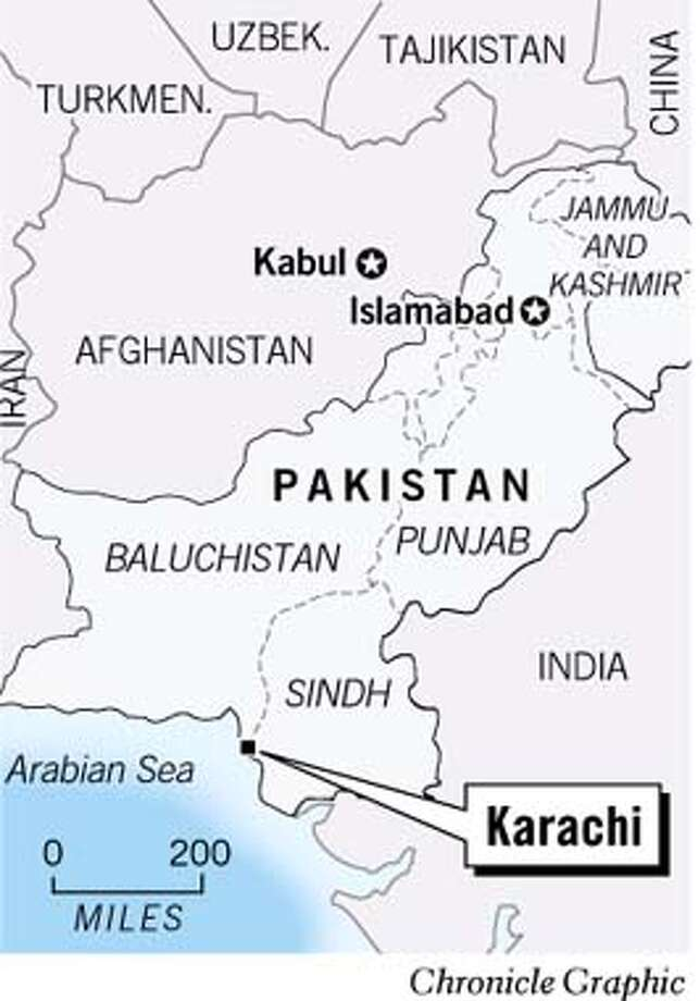 Karachi, Pakistan. Chronicle Graphic