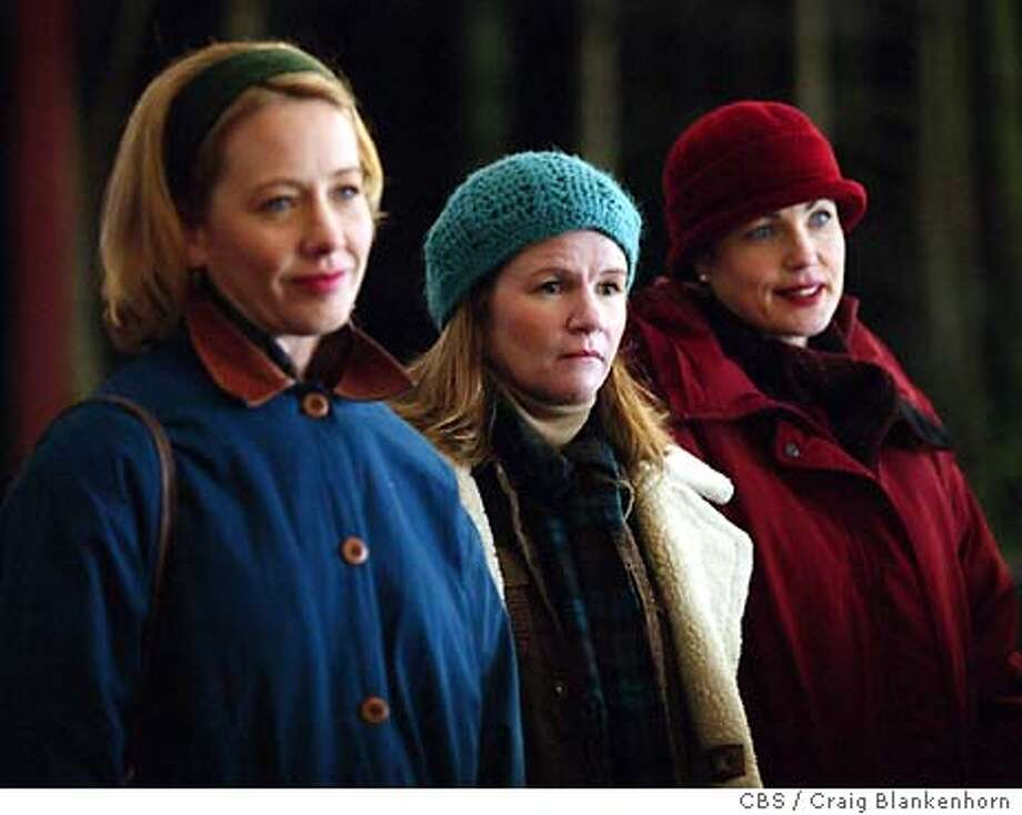 caption: Ann Cusack, Mare Winningham and Elizabeth McGovern star as the wives of aging small-town heroes on the new drama THE BROTHERHOOD OF POLAND, NH to air on the CBS Television Network. copyright: CBS / Craig Blankenhorn.  �2003 CBS Worldwide Inc. All Rights Reserved The three wives of the three brothers of Poland, N.H. -- played by Ann Cusack, Mare Winningham and Elizabeth McGovern -- are as interesting as their male counterparts. Photo: CRAIG BLANKENHORN