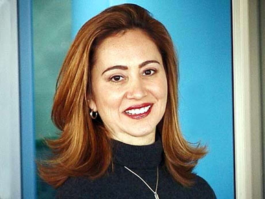 """Margita Thompson is seen Monday, Nov. 10, 2003, at CNN offices in Washington, D.C. Gov.-Elect Arnold Schwarzenegger announced Monday he will appoint Margita Thompson as Press Secretary. """"Margita is supremely qualified for the job - she is a native Californian who has worked in government and media at both the state and national levels. She will bring energy and enthusiasm to our already dynamic team,"""" said Schwarzenegger. (AP Photo/Supplied by Margita Thompson)"""