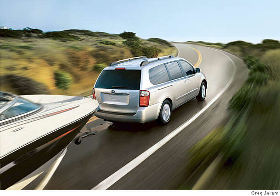 2007 KIA Sedona  Ran on: 08-03-2007  Where it counts -- safety -- the Kia Sedona has all you need: electronic stability control, traction control, brake assist, air bags.  Ran on: 08-03-2007 Photo: KIA