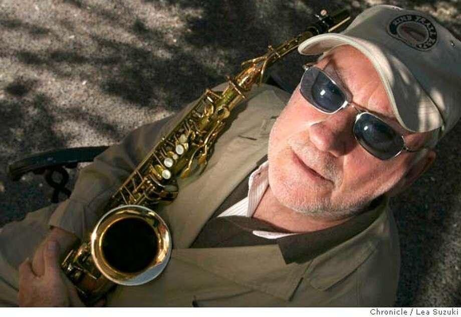 konitz02_0024_ls.JPG  Saxophonist Lee Konitz. Photo taken on 072907 in Menlo Park, CA.  Photo by Lea Suzuki/ The Chronicle  (Lee Konitz)cq MANDATORY CREDIT FOR PHOTOG AND SF CHRONICLE/NO SALES-MAGS OUT. Photo: Lea Suzuki