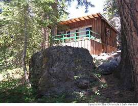 � Cottages at the Kit Carson Lodge have decks with views of Silver Lake and granite peaks of the California Sierra. Deb Wandell / Special to The Chronicle 2007
