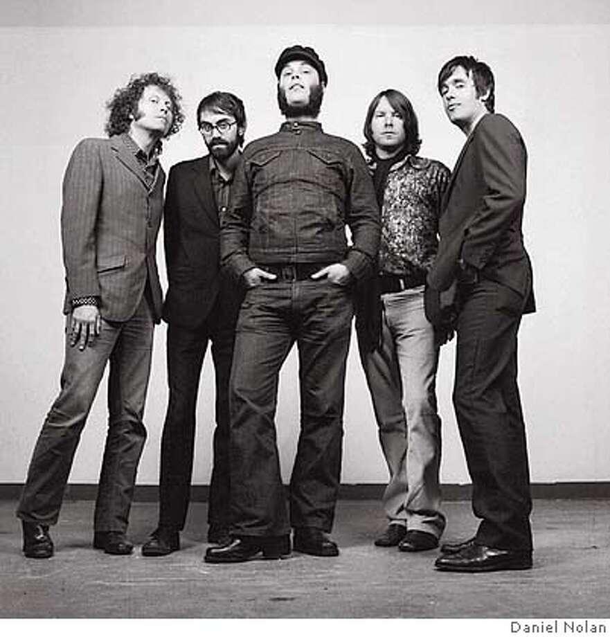 Dilettantes  Left to right: Jefferson Parker, Nick Marcantonio, Joel Gion, Brock Galland, KC Kozak Photo: Daniel Nolan