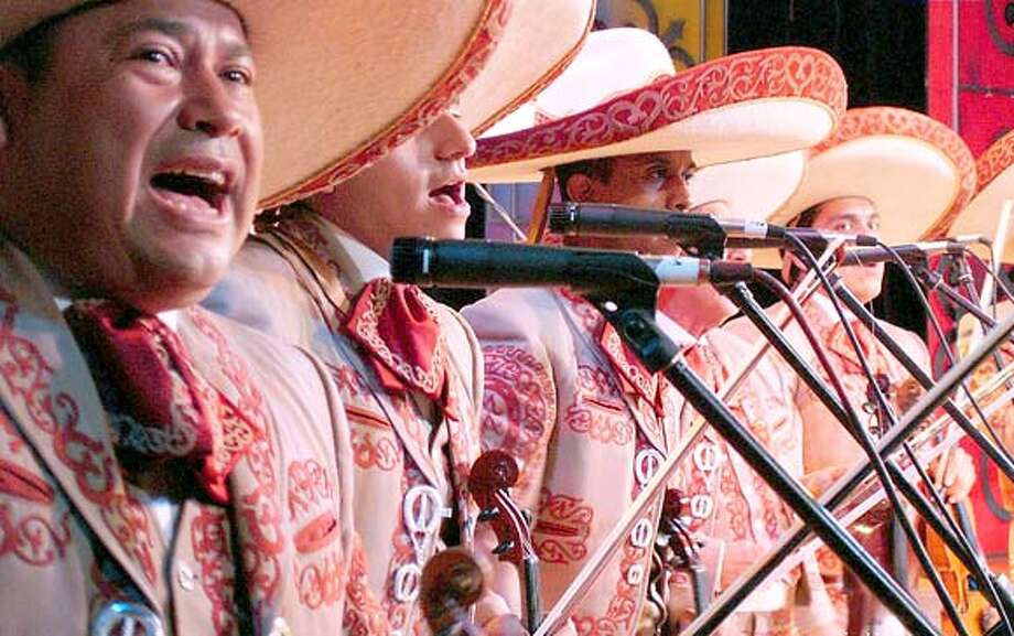 TRAVEL GUADALAJARA, Mexico -- The 14th Annual International Mariachi and Charro Festival comes to Guadalajara's Teatro Degollado Aug. 30-Sept. 9, along with an elaborate parade and a series of dinners, outdoor concere, music workshops and arts and crafts exhibits. Photo: Handout