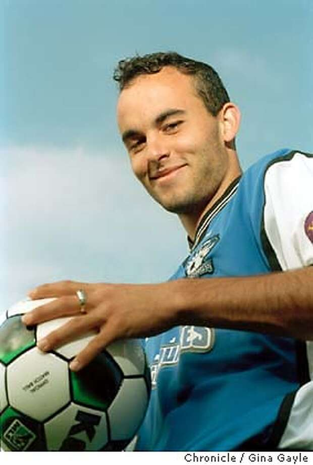 SOCCER01a-C-26JUL02-MG-GG-Landon Donovan, San Jose Earthquakes and World Cup soccer star. Photo by Gina Gayle/The SF Chronicle. CAT Photo: GINA GAYLE
