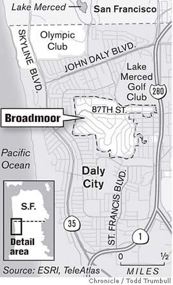 Broadmoor. Chronicle graphic by Todd Trumbull