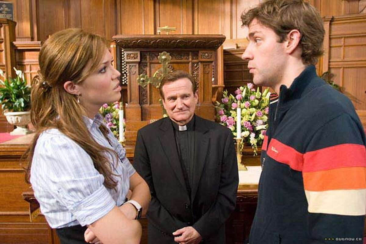 """Robin Williams in """"License to Wed"""": What was he thinking? Photo courtesy of Warner Bros. Pictures"""