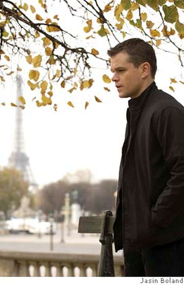 Jason Bourne (MATT DAMON) tracks a contact in Paris in the espionage thriller that takes Bourne back home: ?The Bourne Ultimatum?. Photo: Photo Credit: Jasin Boland