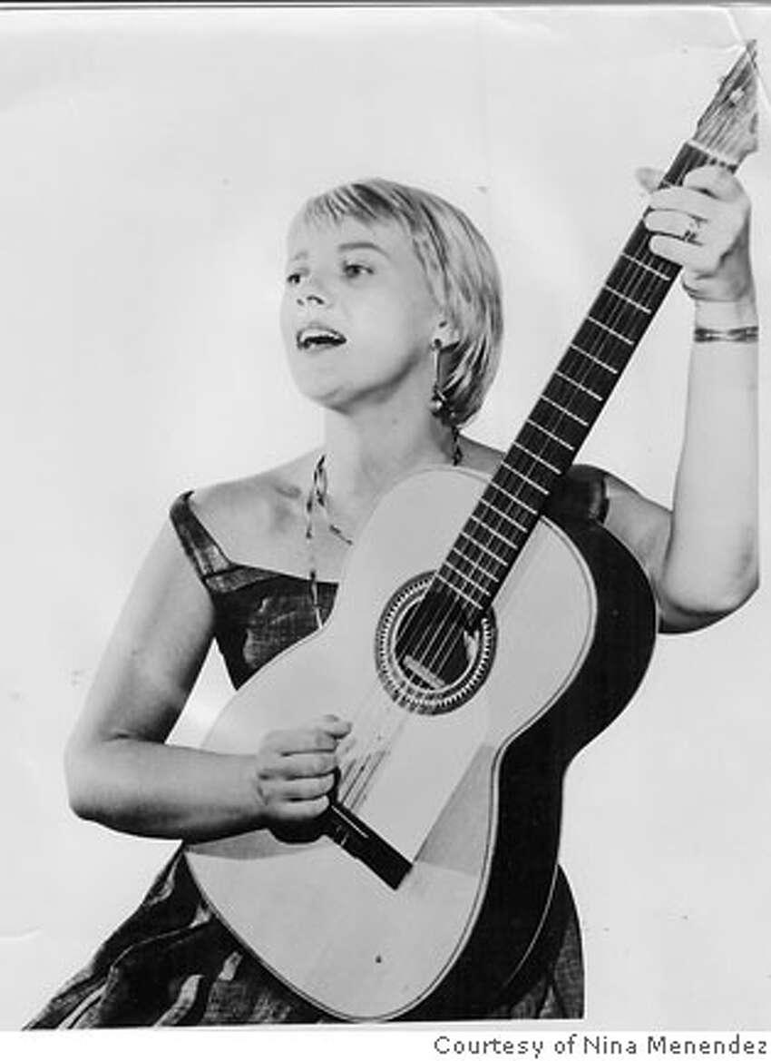 Barbara Dane in the 1950s