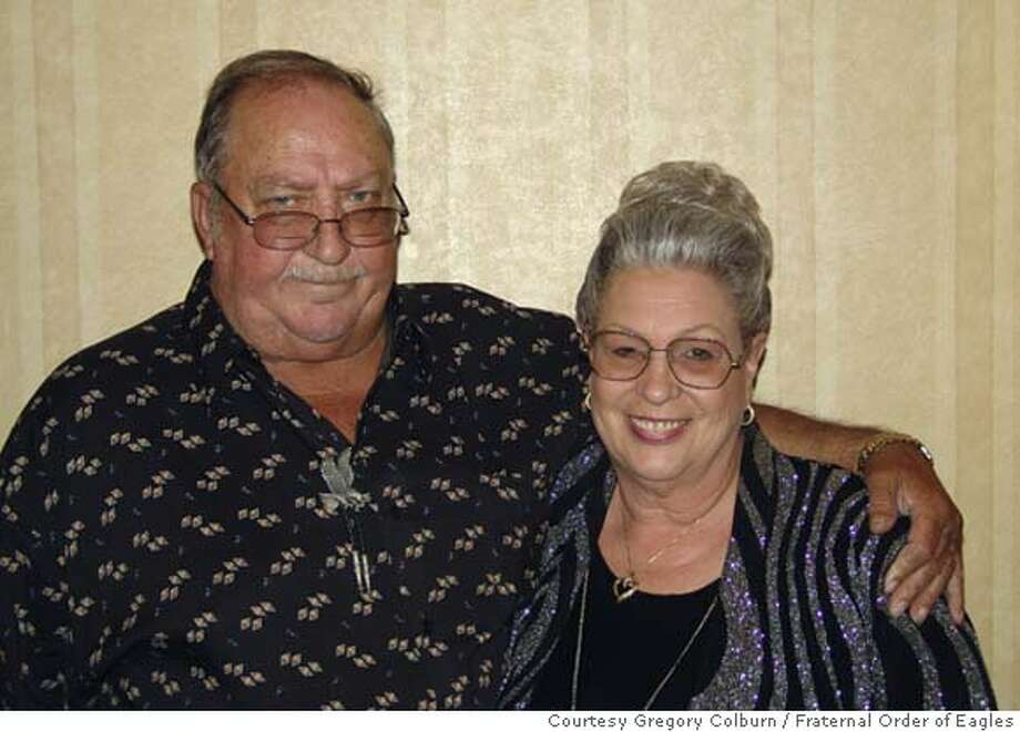 Handout photo of Delbert and Gayle Moore of who died in a fire in their unincorporated San Pablo home Saturday, July 21, 2007. Two firefighters from the Contra Costa County FireProtection district also died in the blaze.  Photo courtesy Gregory Colburn/ Fraternal Order of Eagles Photo: C