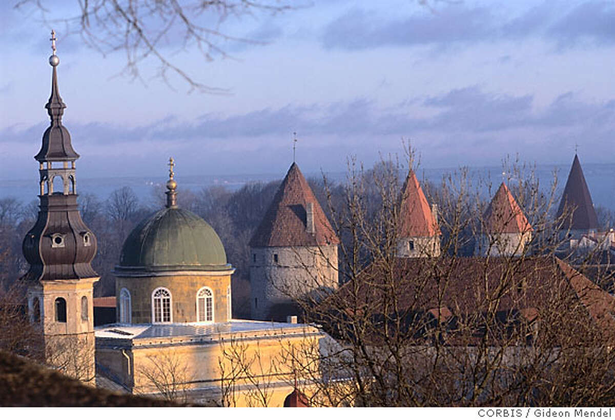TRAVEL BALTICS -- Old Town, Tallinn, Estonia --- Cistercian Convent of St. Michael in Tallinn --- Image by � Gideon Mendel/CORBIS