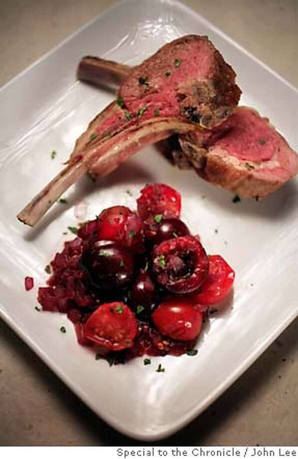 PAIRINGS20_JOHNLEE.JPG  Lamb with cherries.  By JOHN LEE/SPECIAL TO THE CHRONICLE Photo: John Lee