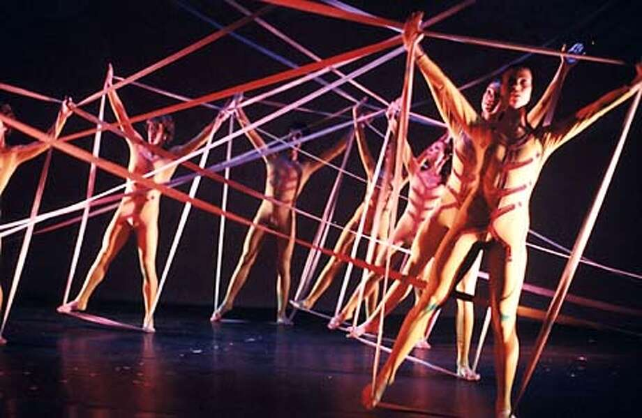 Nikolais Dance Company, billed as a celebration of the late Nikolais, at Stanford Lively.