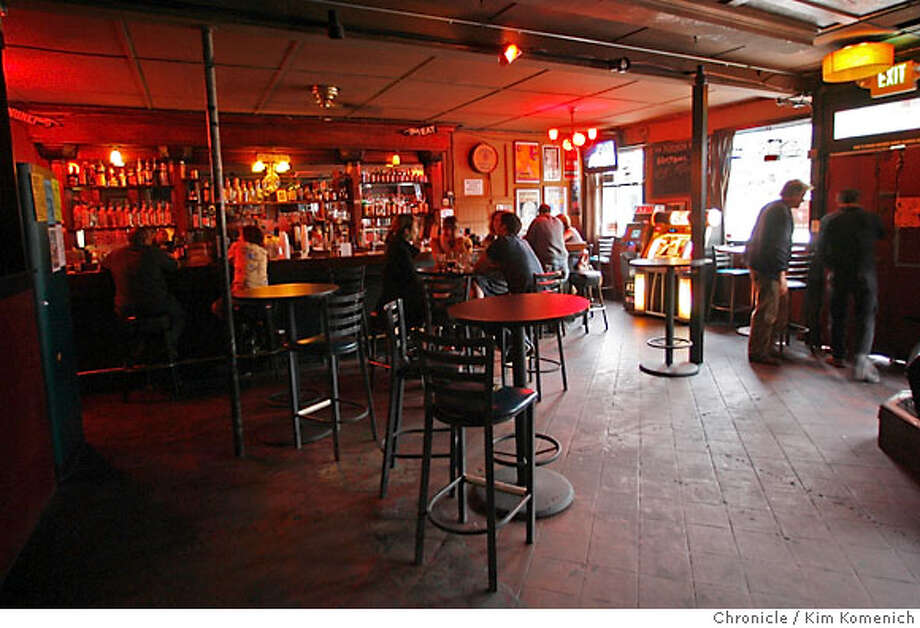 BARBITES19_PARKSIDE_060_KK.JPG  96 Hours Barbites feature on Thee Parkside bar at 1600 17th St. in San Francisco. This is the bar area.  Photo by Kim Komenich/The Chronicle Photo: Kim Komenich