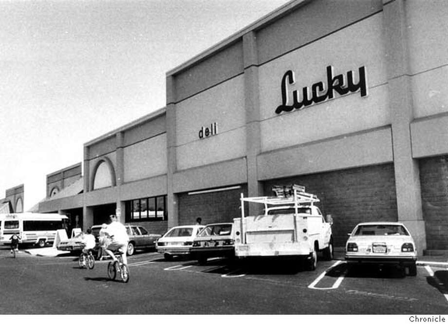 � 1989 chronicle file photo of lucky market in Fremont Photo: Staff