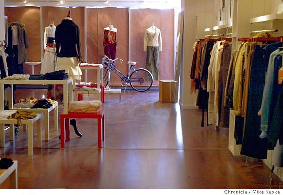 Catherine Chow and Corina Nurimba are now opeing their own store on Hayes after spend a year in planing.  9/23/03 in San Francisco. MIKE KEPKA / The San Francisco Chronicle Photo: MIKE KEPKA