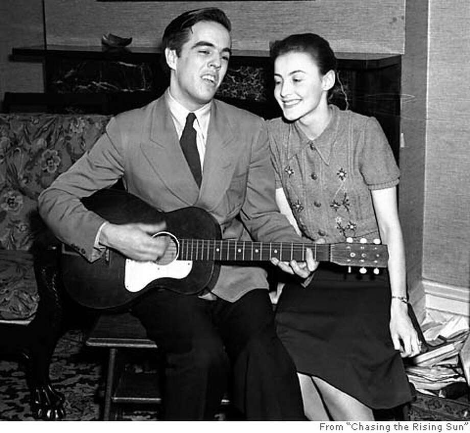"Musicologist Alan Lomax, here with wife Elizabeth, recorded Georgia Turner singing ""House of the Rising Sun"" in Kentucky in 1937. Photo from ""Chasing the Rising Sun"""