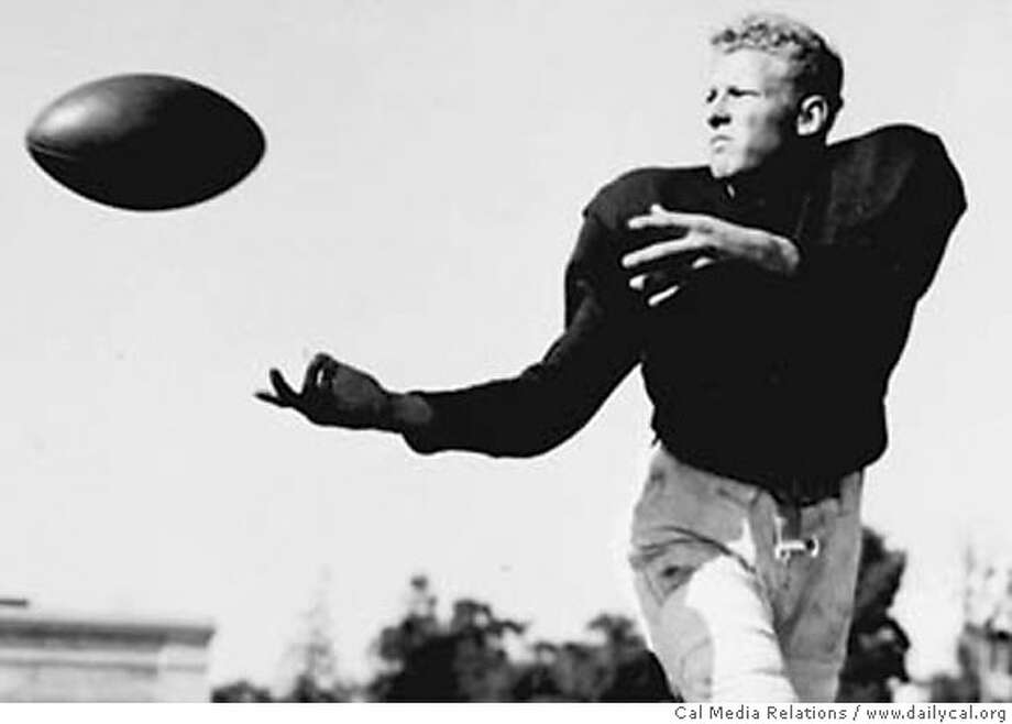 Jackie Jensen was a fullback at Cal and went on to play baseball for the Boston Red Sox source: Courtesy Cal Media Relations / www.dailycal.org  Ran on: 07-15-2007  Jackie Jensen (shown at Cal in the 1940s), the only athlete ever to play in a Rose Bowl, the World Series and a Major League Baseball All-Star Game, died in 1982. Photo: Dailycal.org