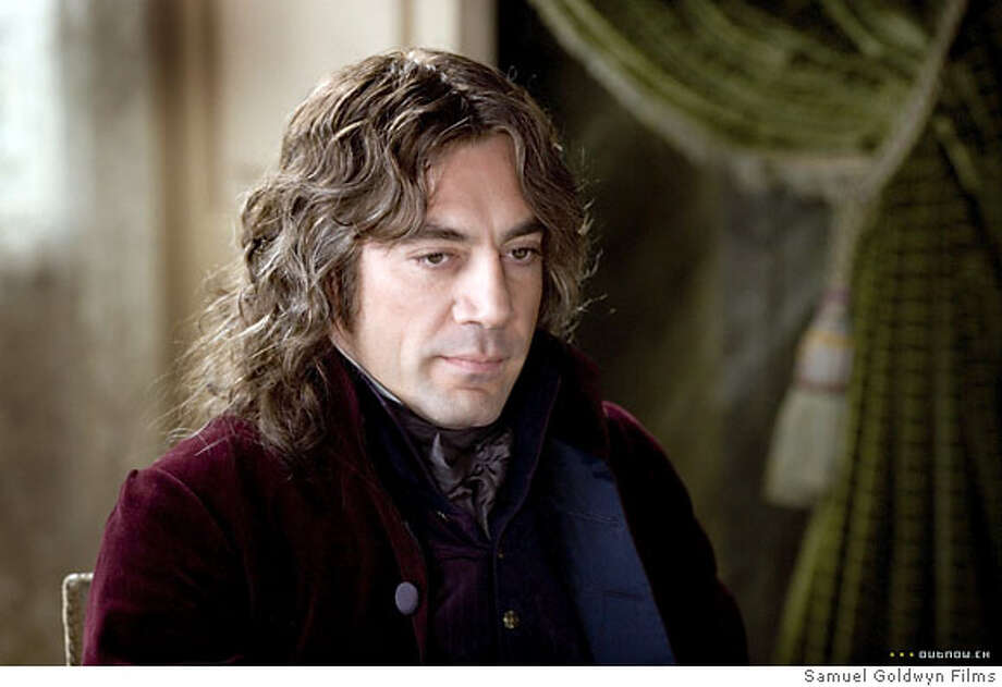 Javier Bardem in GOYA'S GHOSTS Ran on: 07-15-2007  Javier Bardem plays a fanatical, cunning priest in Milos Forman's historical epic &quo;Goya's Ghosts.&quo; Photo: Amazon.com