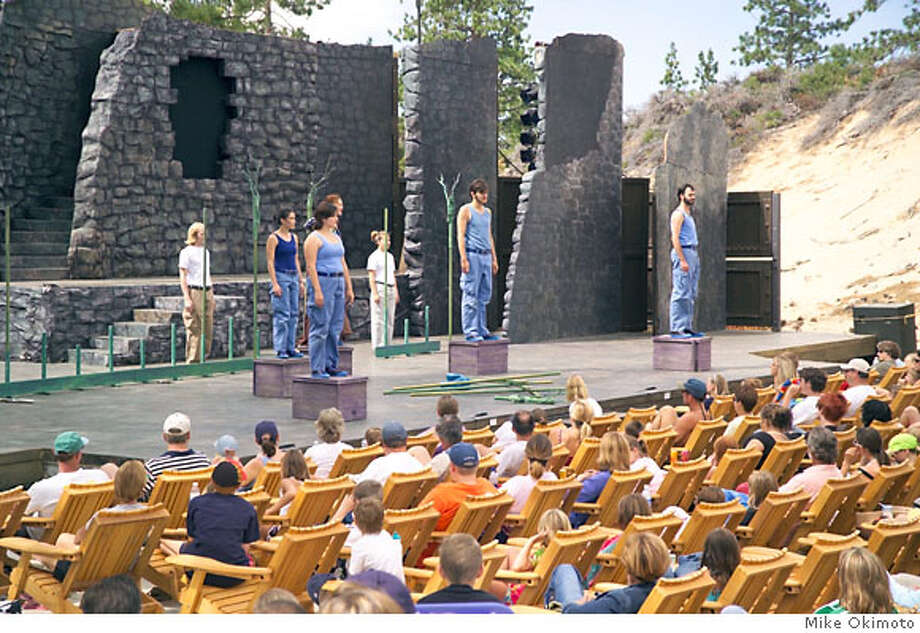 LAKE TAHOE SHAKESPEARE FESTIVAL in Sand Harbor. **cq there are no pix of a person playing shakespeare.  photo credit Mike Okimoto Ran on: 07-15-2007  The Lake Tahoe Shakespeare Festival presents its shows at the outdoor amphitheater at Sand Harbor State Park. Photo: Mike Okimoto