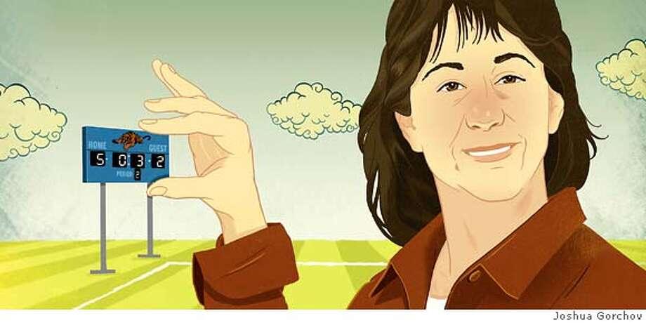 Portrait of Jill Barnes to run in BRIGHT IDEAS column in the 7/15/07 issue of SUNDAY MAGAZINE