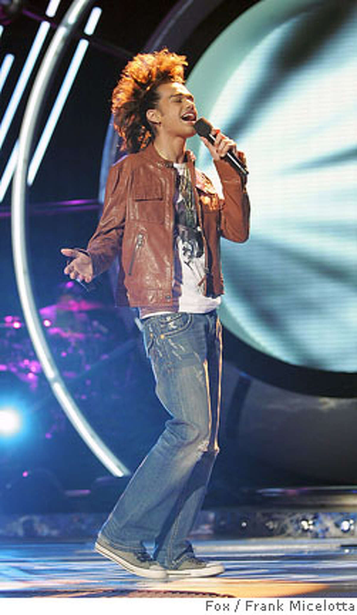 """(NYT23) UNDATED -- March 30, 2007 -- TV-WORST-IDOL -- Sanjaya Malakar performs on """"American Idol."""" Malakar has been an unlikely success. ( Fox / Frank Micelotta/Fox via The New York Times) EDITORIAL USE ONLY - MAGS OUT/NO SALES - FOR USE ONLY WITH STORY SLUGGED: TV-WORST-IDOL BY EDWARD WYATT - ALL OTHER USE PROHIBITED GAMING05 Ran on: 04-05-2007 Sanjaya Malakar has surprised many by advancing each week on Foxs TV show American Idol. Ran on: 07-15-2007"""