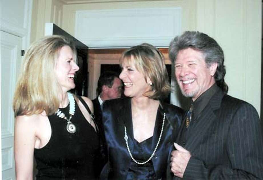 A GOOD HAIR DAY: LINDSEY RAMEY, SAN FRANCISCO OPERA GENERAL DIRECTOR PAMELA ROSENBERG AND BASS SAMUEL RAMEY AT A COCKTAIL PARTY IN HIS HONOR OCT 14,2003