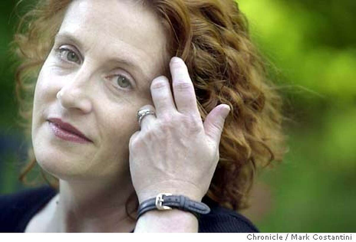 waldman22_0057.JPG Photo taken on 11/14/03 in Berkeley. Portrait of Author Ayelet(cq) Waldman at home in Berkeley. SF CHRONICLE PHOTO BY MARK COSTANTINI