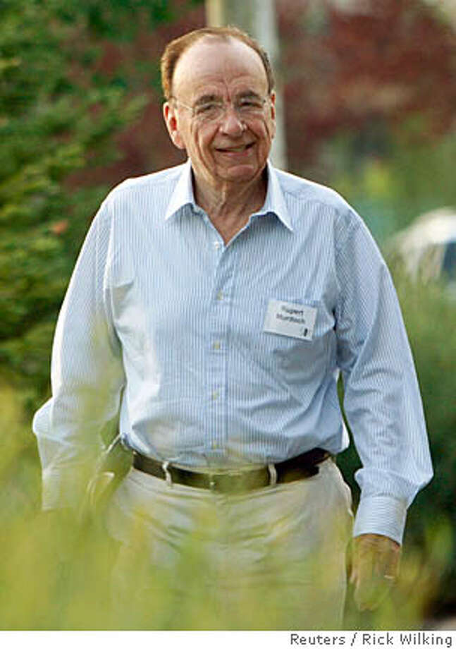 News Corp. CEO Rupert Murdoch arrives for the second session of the Allen and Co. conference at the Sun Valley Resort in Sun Valley, Idaho July 12, 2007. REUTERS/Rick Wilking (UNITED STATES)  Ran on: 07-13-2007  Rupert Murdoch is negotiating with the Bancroft family to buy the Wall Street Journal at a huge premium. Such a windfall profit should go to preserve the kind of tough journalism at which the Journal excels. Photo: RICK WILKING