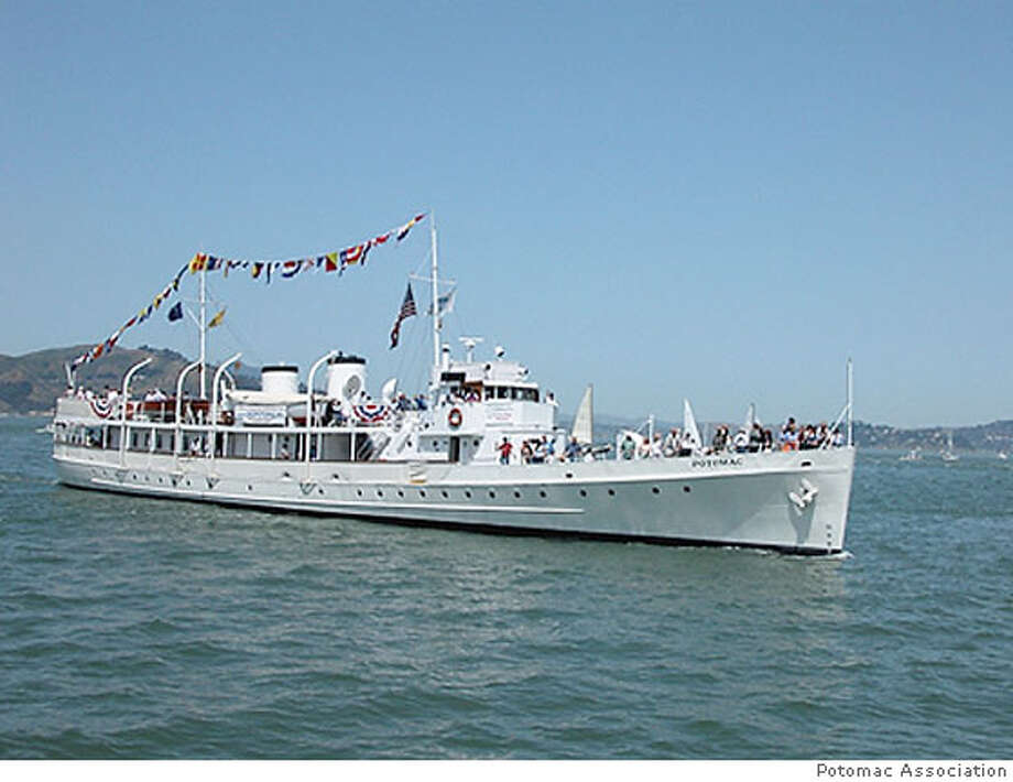 The USS Potomac Photo: Courtesy Potomac Association