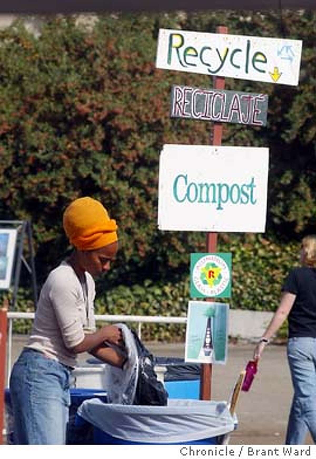 bioneers009_bw.jpg The Bioneers conference was held at the Marin County Civic Center over the weekend. These