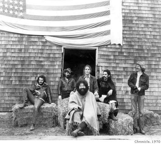 Grateful Dead circa 1970 Photo: Chronicle File Photo Circa 1970