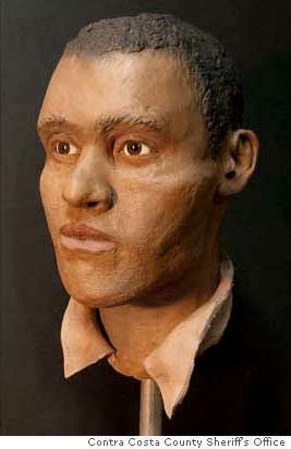 An artist's re-creation of the head found on a body washed ashore in Richmond two years ago has led to the ID of a missing SF man. Photo courtesy of the Contra Costa County Sheriff's Office