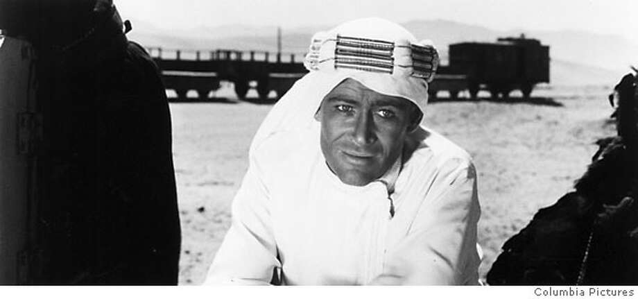 "Peter O'Toole in ""Lawrence of Arabia"" 1962 on 9/8/05 in . / HO Photo: Columbia Pictures"