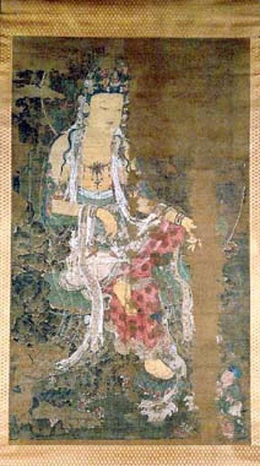 Avalokiteshvara, at the Kagami Jinjya Temple PHOTO COURTESY OF THE ASIAN ART MUSEUM