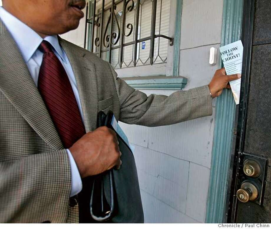 Who's that knocking? Jehovah's Witnesses flock to the Bay
