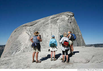 DANGER ON THE DOME / Overcrowding: Hikers swarming