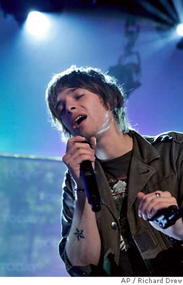 """Scottish-born singer Paolo Nutini performs on the NBC """"Today"""" television program in New York, Tuesday morning July 3, 2007. (AP Photo/Richard Drew) STAND ALONE Photo: RICHARD DREW"""