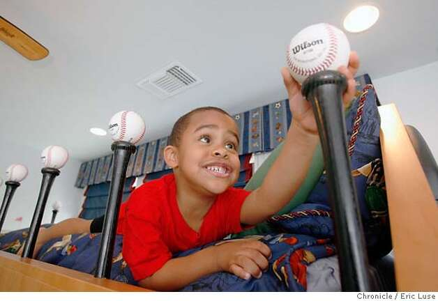 sabathia098.JPG  Little C Sabathia,3, play in Little C's room in their home in Fairfield  Photographer:  Eric Luse / The Chronicle names (cq) from source  Jaden, 1 Amber Little C,3 CC Sabathia MANDATORY CREDIT FOR PHOTOG AND SF CHRONICLE/NO SALES-MAGS OUT Photo: Eric Luse