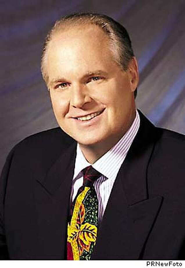 "Conservative broadcaster Rush , one of the most influential radio commentators in America, told his millions of listeners on October 10, 2003 he is addicted to prescription painkillers and is checking himself into a drug treatment center. , known for his biting attacks on liberals and eloquent defenses of conservative political causes, also acknowledged that ""authorities are conducting an investigation"" but said he was not at liberty to offer further details until the probe is complete. Undated file photo. ( ) PRNewFoto Photo: PRNEWFOTO"