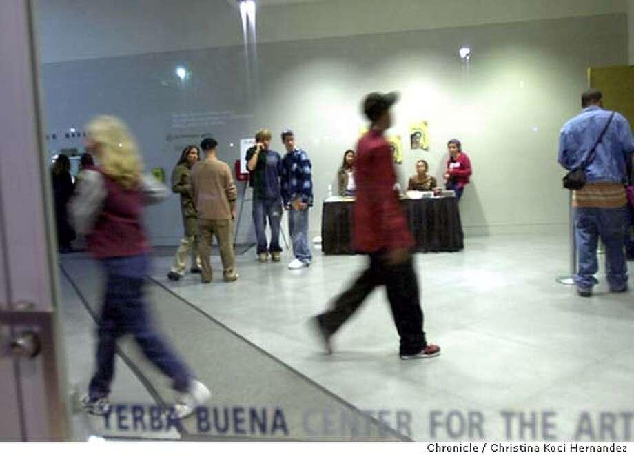 10/09/03 | Color | 3star | full | D1 | Datebook | mp 7983 | yerba09 Photo: CHRISTINA KOCI HERNANDEZ