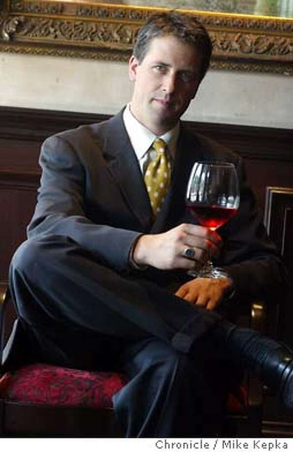 10/9/2003   B/W-Paginated   Advance   25p by full      Wine   rubien 8240   sommelier09_PH Photo: MIKE KEPKA