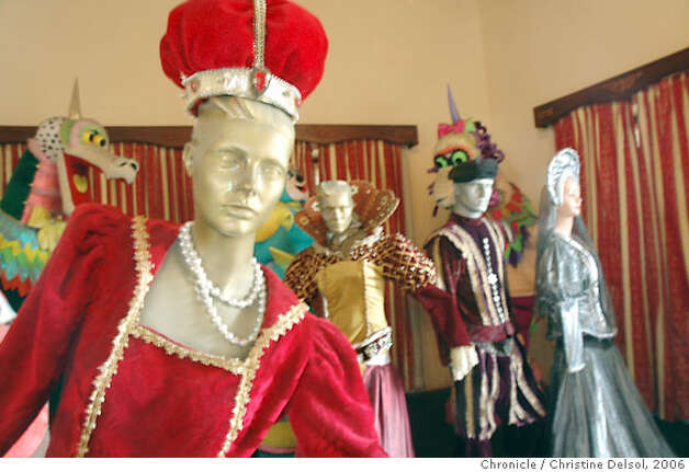 TRAVEL MAZATLAN -- A display of Carnival history at Casa Machado, a museum in a former mansion overlooking Plazuela Machado. Credit: Christine Delsol / The Chronicle 2006 Photo: Christine Delsol